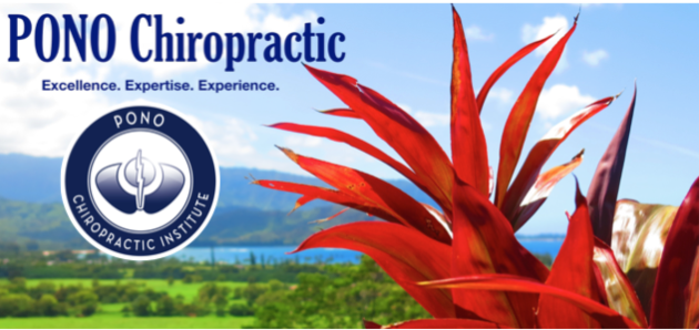 PONO Chiropractic Institute now open on Kauai